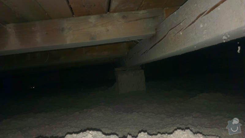 Zateplení ploché střechy foukanou izolací: IMAG0203