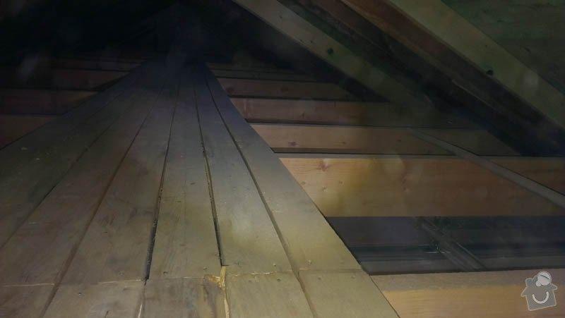 Zateplení půdního bytu foukanou izolací Tempelan: IMAG0224