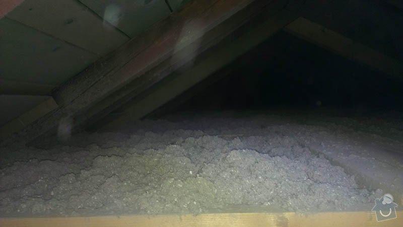 Zateplení půdního bytu foukanou izolací Tempelan: IMAG0229