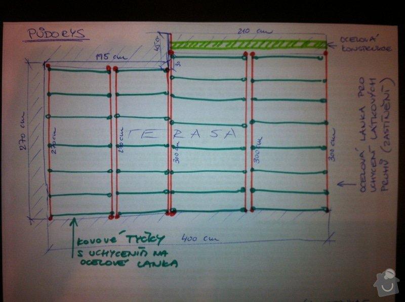 Konstrukce pro latkove baldachyny - ocelova lanka: IMG_6127