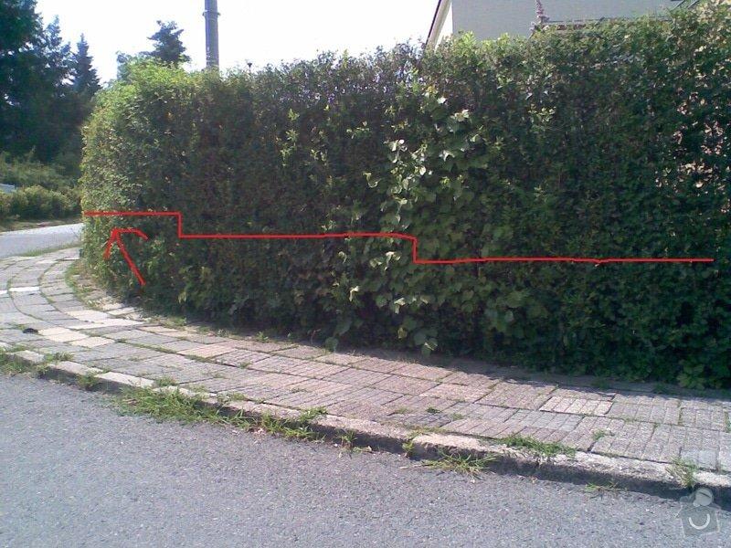 Nízká opěrná zídka kolem pozemku - Face Block: Image004