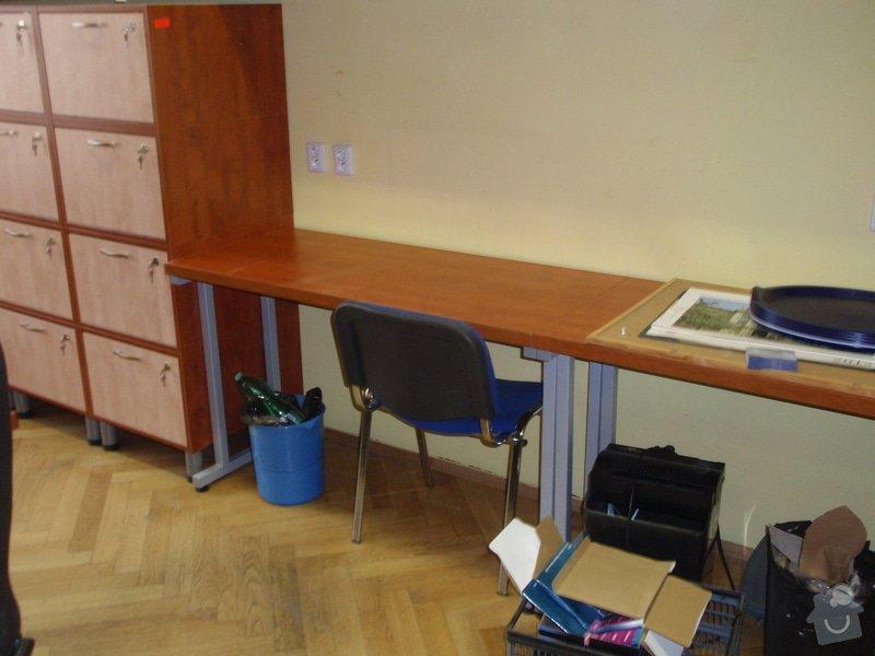 Výroba kancelářského nábytku + SDK příčka: P7012365