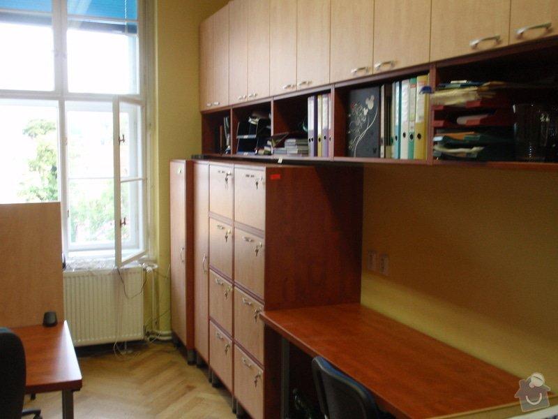 Výroba kancelářského nábytku + SDK příčka: P7012367