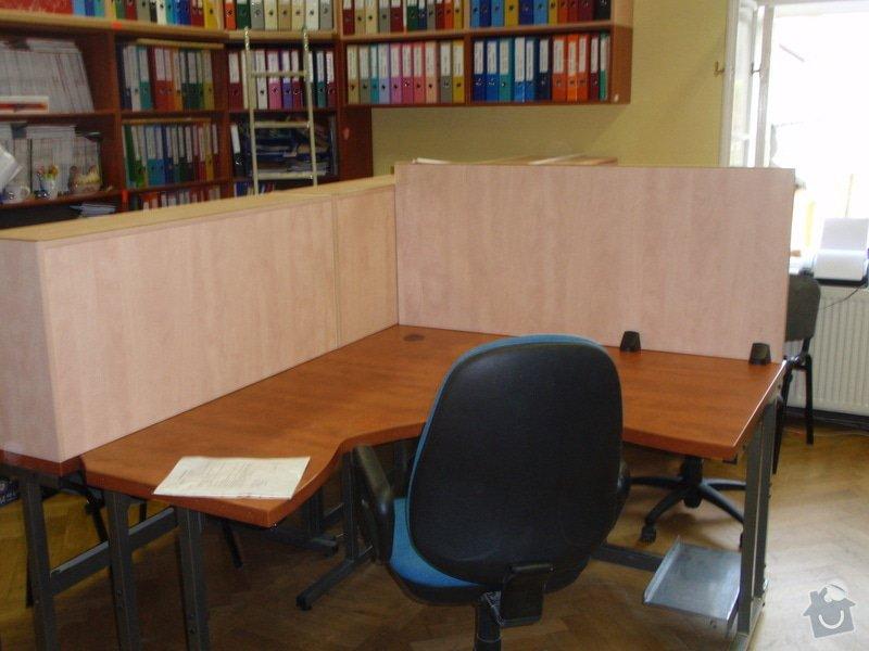 Výroba kancelářského nábytku + SDK příčka: P7012368