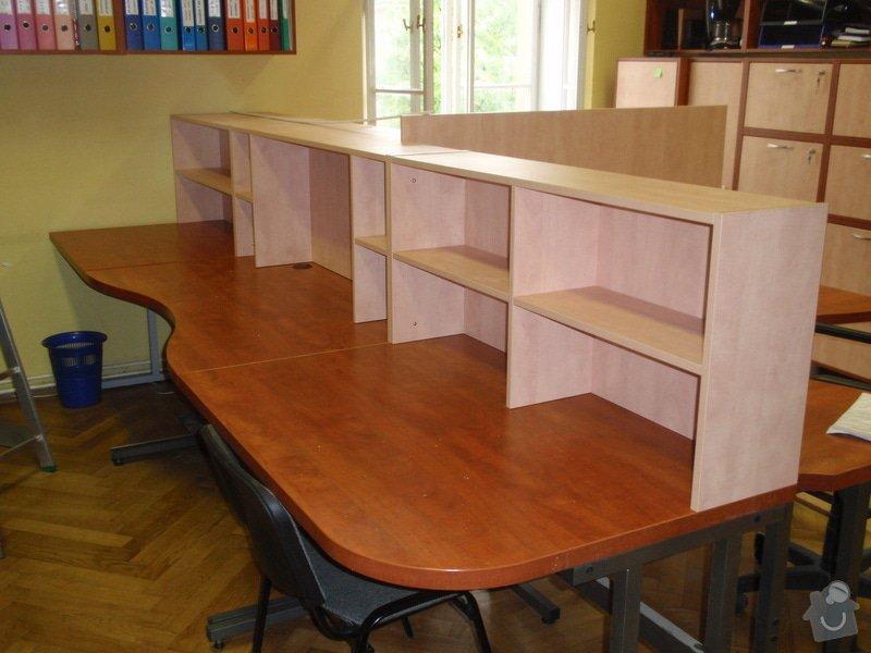 Výroba kancelářského nábytku + SDK příčka: P7012369