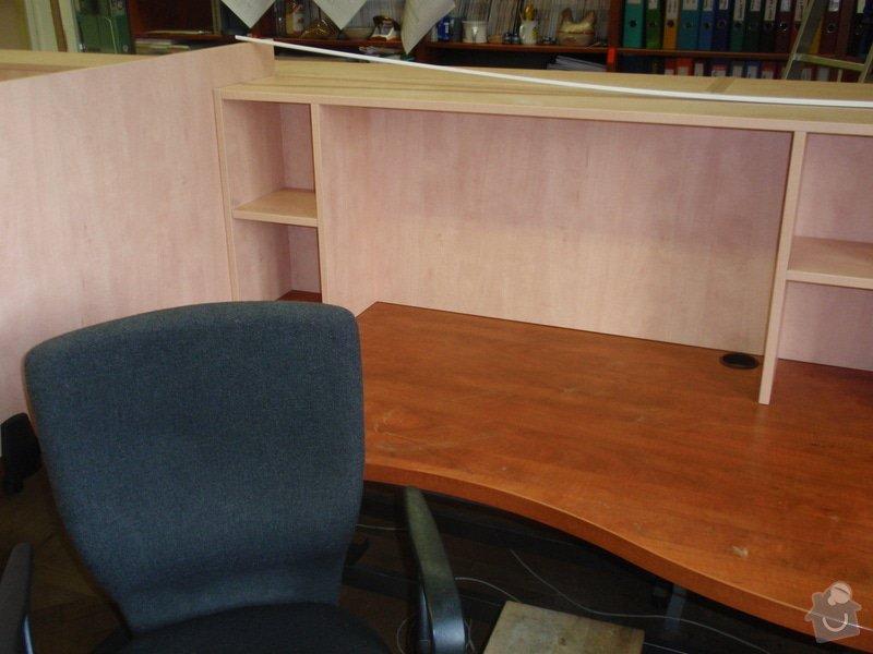 Výroba kancelářského nábytku + SDK příčka: P7012370
