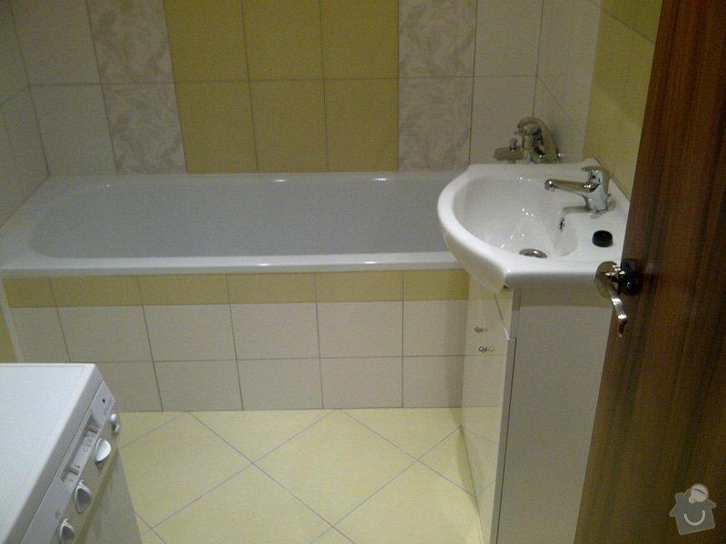 Rekonstrukce bytového jádra + kuchyňská linka: IMG-20120703-00035