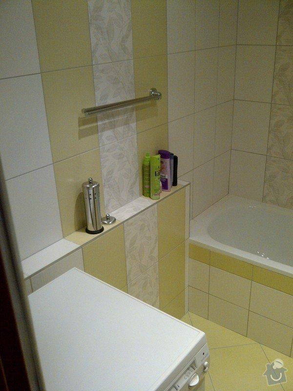 Rekonstrukce bytového jádra + kuchyňská linka: IMG-20120703-00036