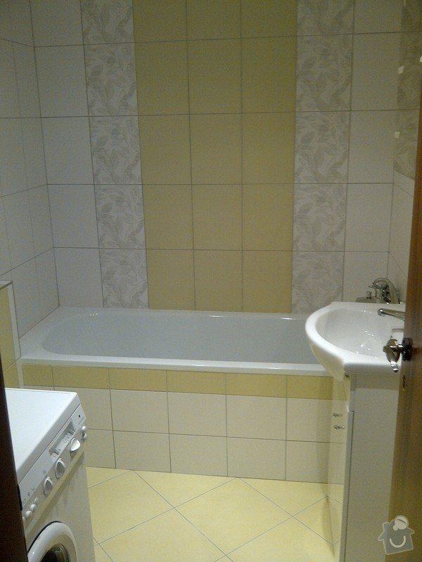 Rekonstrukce bytového jádra + kuchyňská linka: IMG-20120703-00037