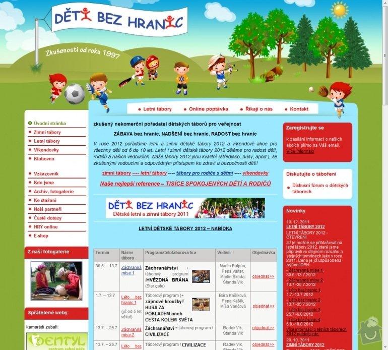 Tvorba stránek pro Děti bez hranic : 010-detske-letni-a-zimni-tabory-2012-detsky-tabor-deti-bez-hranic