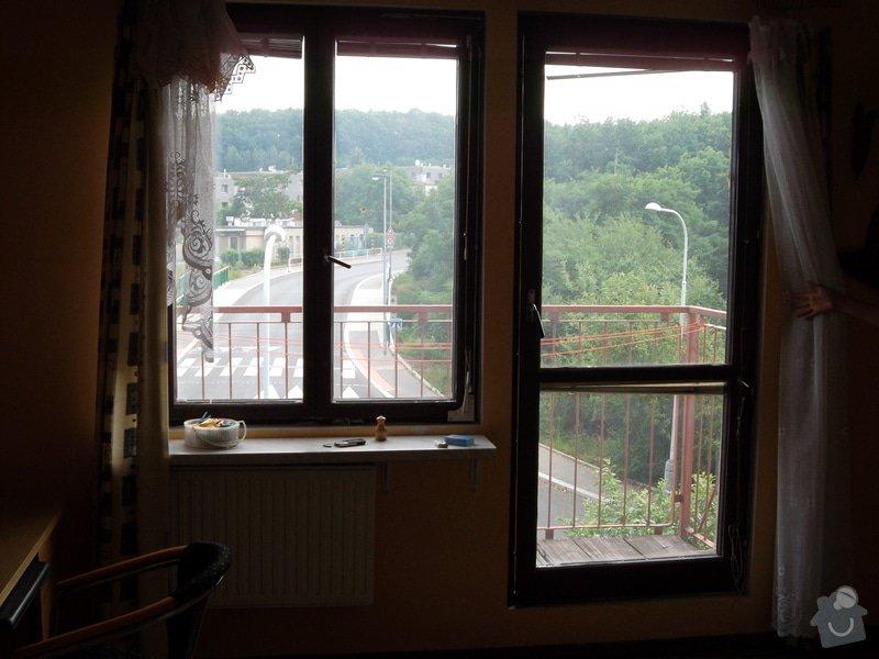 Výroba a montáž plastového okna a balkonových dveří, žaluzie do okna a venkovní parapet : SAM_0829
