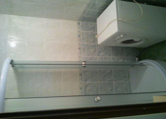 Renovace koupelny,malování