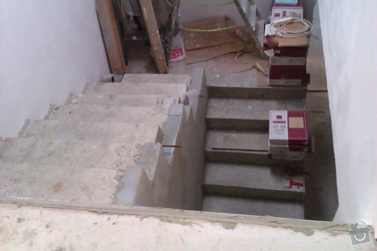 Tesaře pro masivní schodiště: schody1
