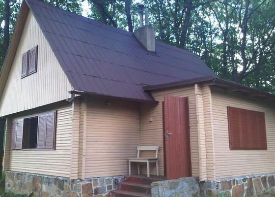 Nater strechy, okapu a sten chaty