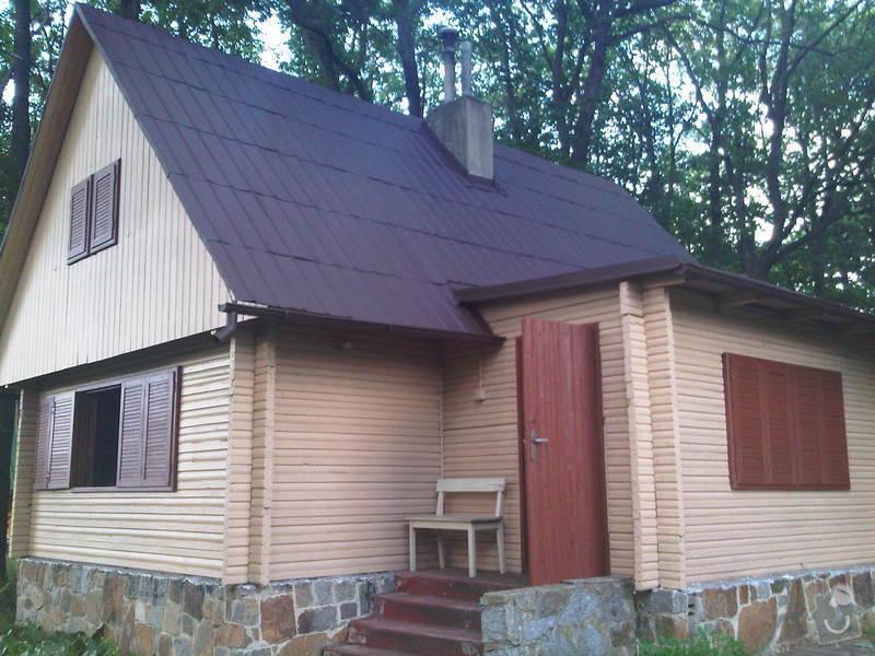Nater strechy, okapu a sten chaty: IMG00090-20120626-1749