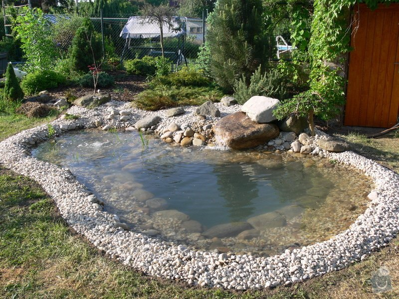 Rekonstrukce zahradního jezírka: Po_rekonstrukci