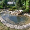 Rekonstrukce zahradniho jezirka po rekonstrukci