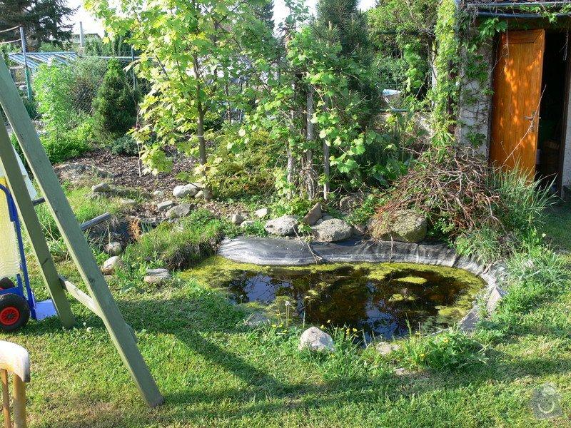 Rekonstrukce zahradního jezírka: P1470341