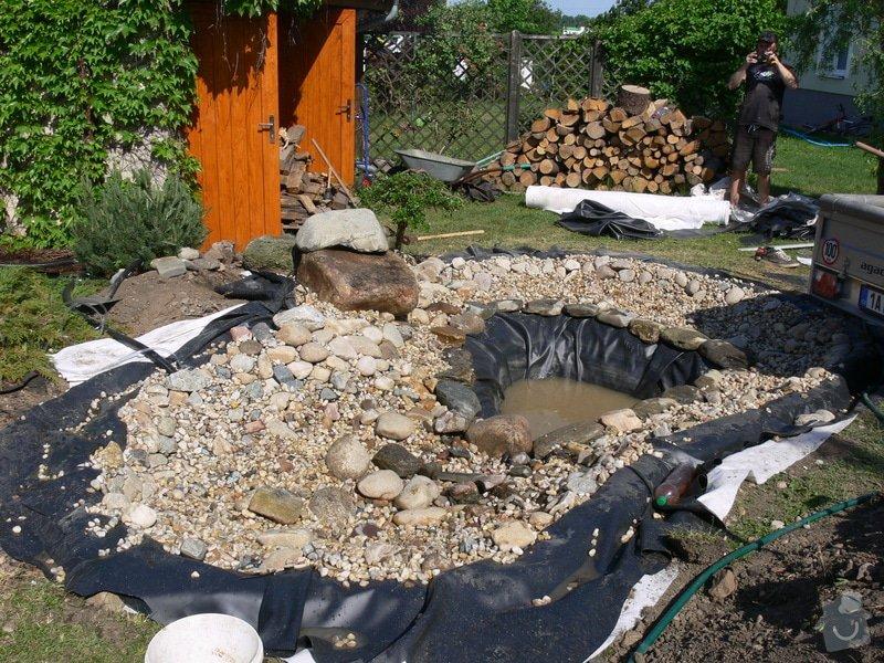 Rekonstrukce zahradního jezírka: P1470408