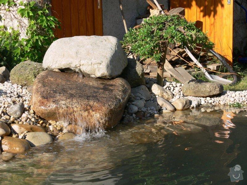 Rekonstrukce zahradního jezírka: P1470421
