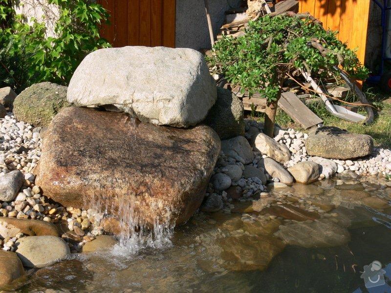 Rekonstrukce zahradního jezírka: P1470423