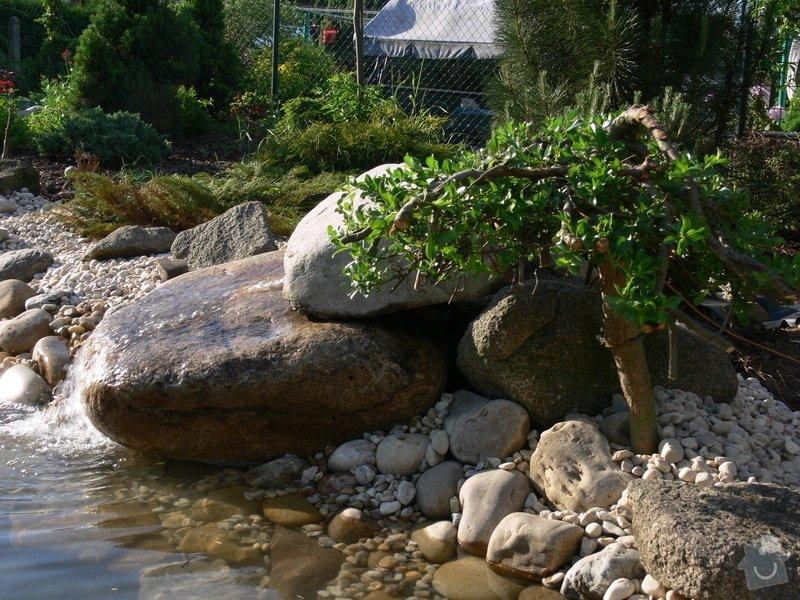 Rekonstrukce zahradního jezírka: P1470424