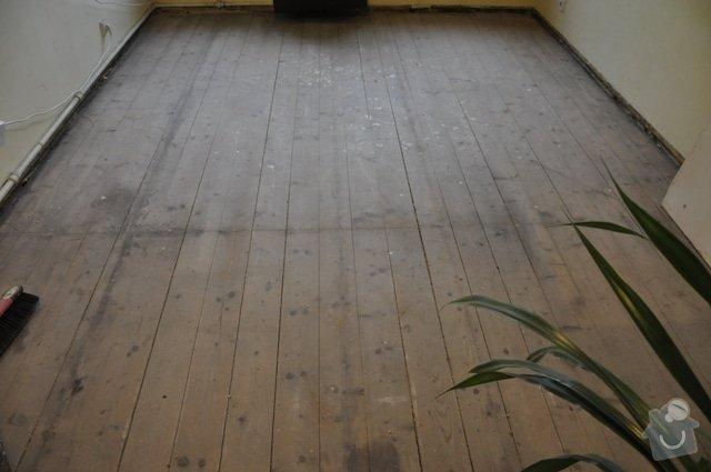 Dřevěná podlaha z prken (palubky): DSC_0024