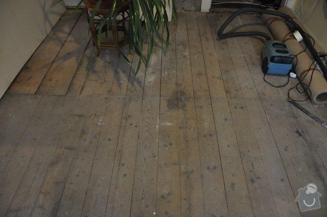 Dřevěná podlaha z prken (palubky): DSC_0027