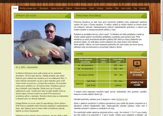 Tvorba rybářského revíru www.rybareni-roudnice.cz