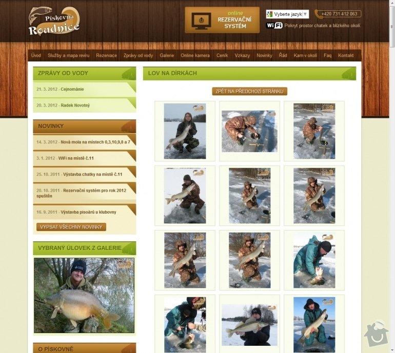 Tvorba rybářského revíru www.rybareni-roudnice.cz: 038-lov-na-dirkach-rybareni-roudnice