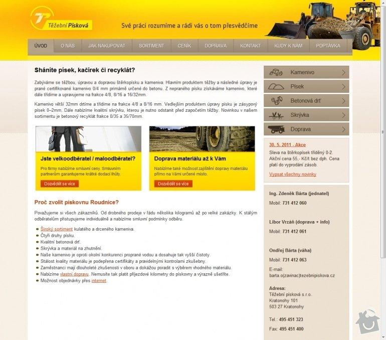 Tvorba stránek firmy na těžbu písku a kameniva www.tezebnipiskova.cz: 037-shanite-pisek-kacirek-ci-recyklat-tezebni-piskova-s-r-o