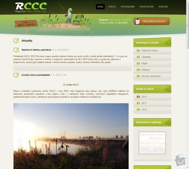 Tvorba rybářského revíru www.rccc.cz: 036-aktuality-rccc