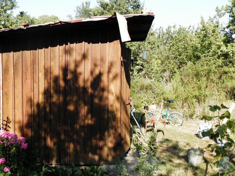 Rozdělání a sestavení zahradní boudy: P7110043