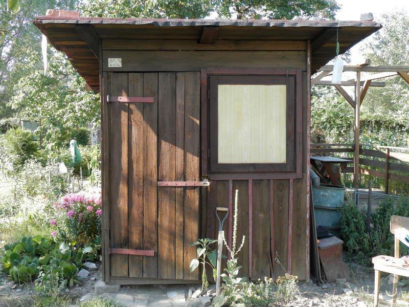 Rozdělání a sestavení zahradní boudy: P7110044