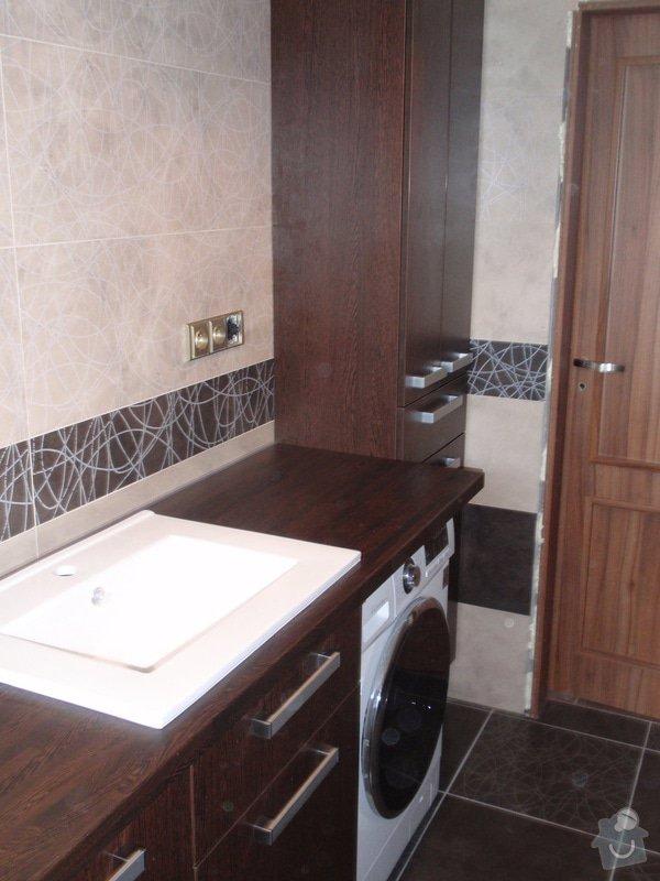 Výroba a montáž koupelnového nábytku: P7112376