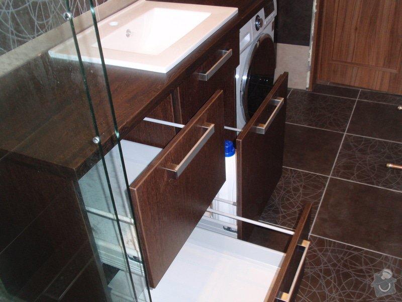 Výroba a montáž koupelnového nábytku: P7112378