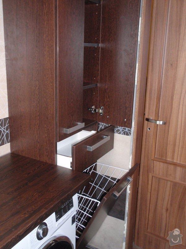 Výroba a montáž koupelnového nábytku: P7112379