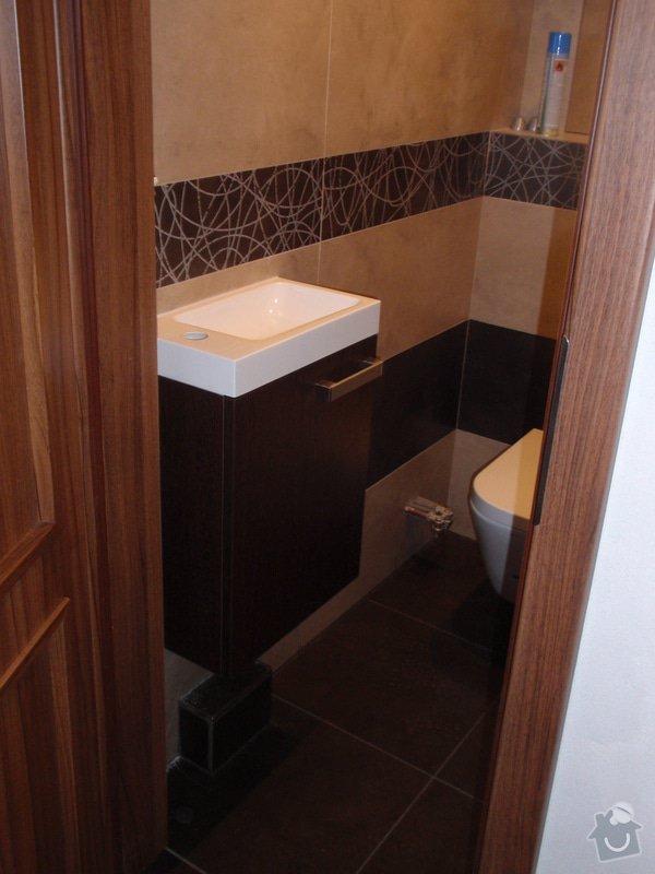 Výroba a montáž koupelnového nábytku: P7112383