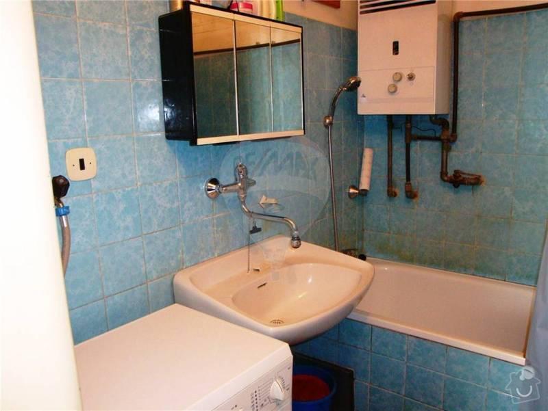 Rekonstrukce koupelny, WC, zednické práce: 13
