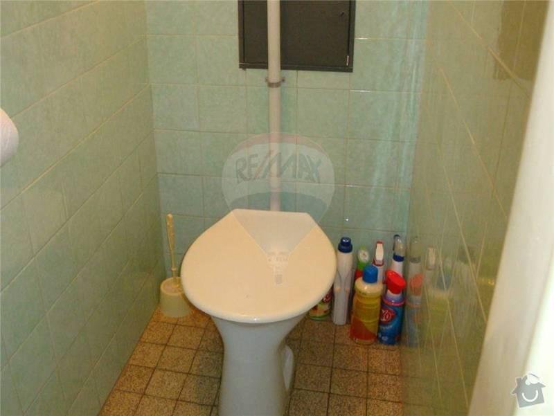 Rekonstrukce koupelny, WC, zednické práce: 14