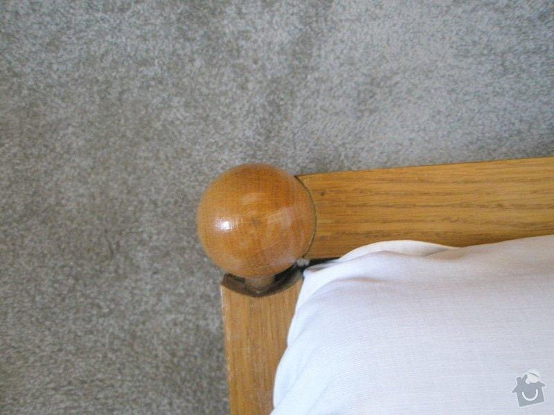 Oprava postele - 2 kusy - truhlářské práce: 2