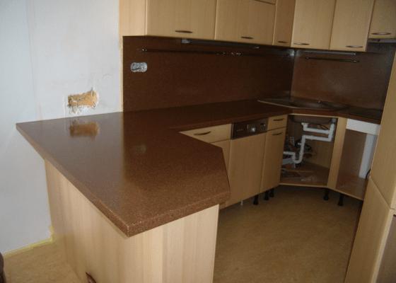 Výroba kuchyňské skříňky