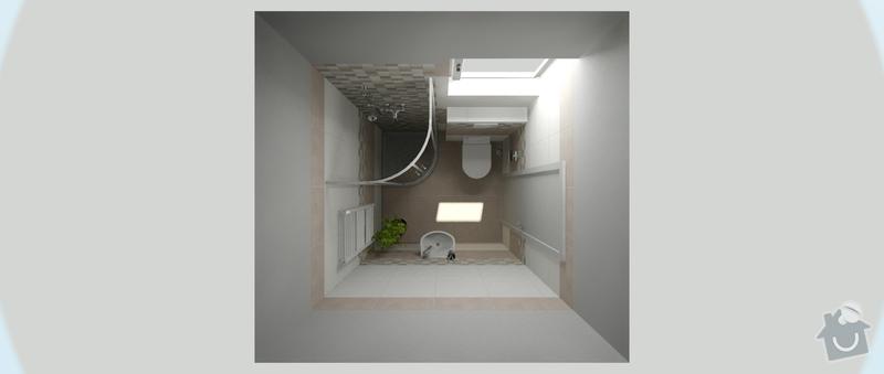Kompletní realizace 2 koupelen v novostavbě dřevostavby RD: viz_edc_rezlerova_1.14_ver2_1