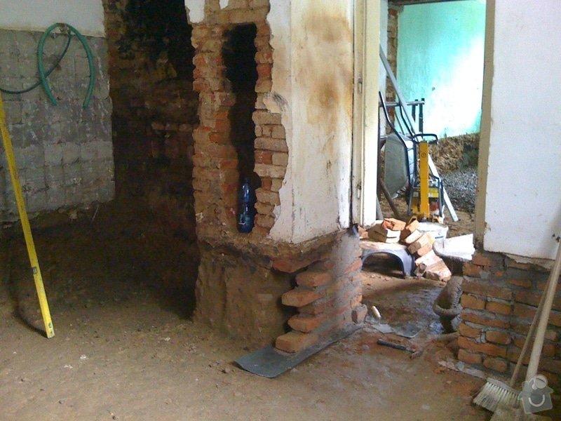Vybourání podlah, zhotovení nových a položení kanalizace: IMG_0796