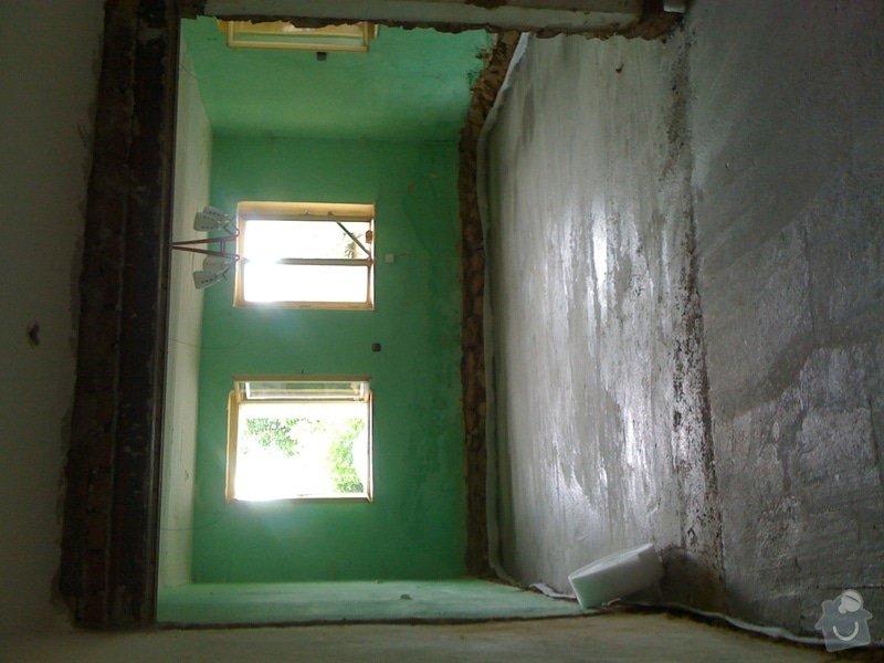 Vybourání podlah, zhotovení nových a položení kanalizace: IMG_0828