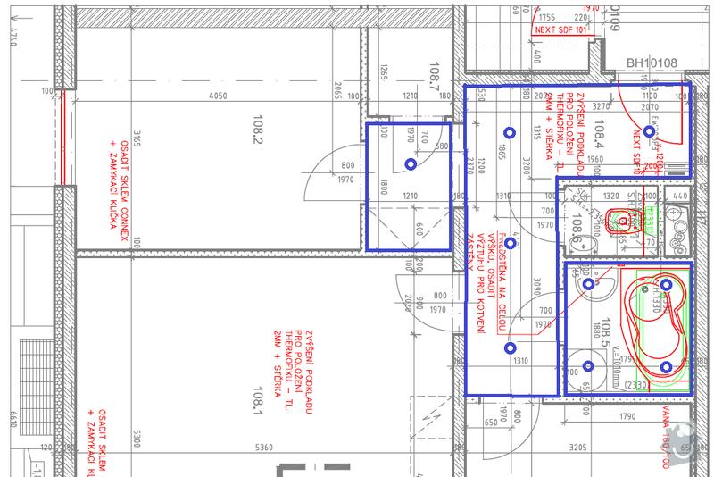 Realizace podhledu (obyvak, koupelna a chodba): Podhled-koupelna_chodba