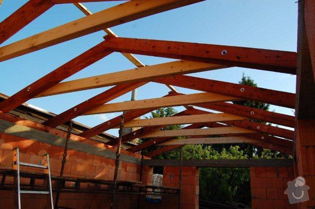 Zhotovení nové sedlové střechy na přístavek – rozměr střechy včetně přesahů cca 8,65 x 5,4m: strecha_4