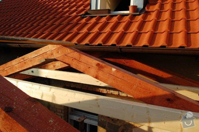 Zhotovení nové sedlové střechy na přístavek – rozměr střechy včetně přesahů cca 8,65 x 5,4m: strecha_11