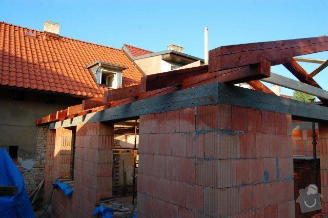 Zhotovení nové sedlové střechy na přístavek – rozměr střechy včetně přesahů cca 8,65 x 5,4m: strecha9