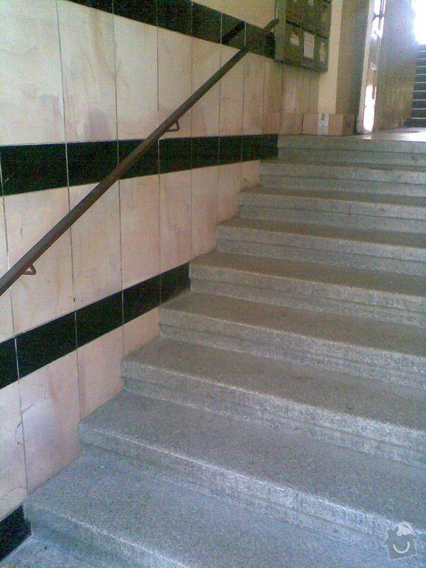 Nájezdovou rampu pro kočárek: schody